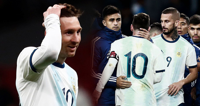 热身赛-梅西回归够苦涩 阿根廷爆冷负