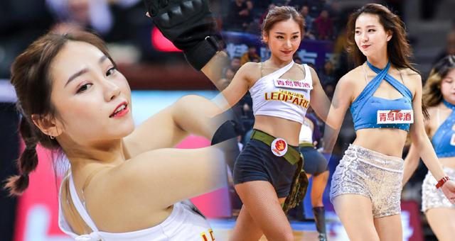 CBA季后赛1/4决赛拉拉队美女热舞精选