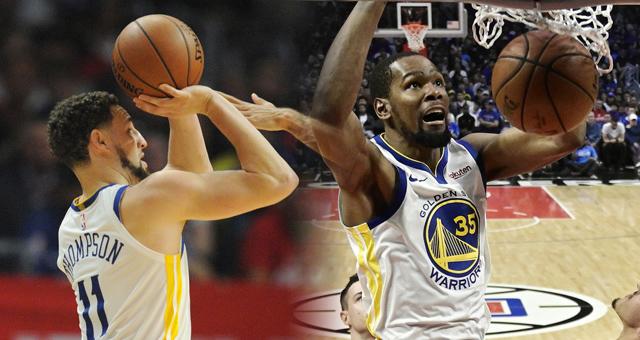 NBA季后赛-勇士113-105快船 总分3-1