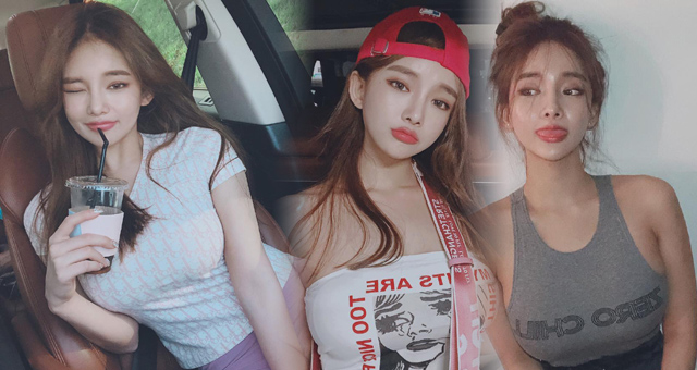 韩国网红模特生活健身美照 身材好到爆