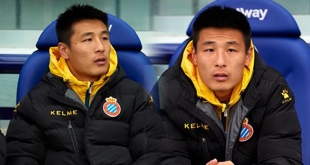 武磊枯坐板凳90分钟 登陆西甲首次未出场