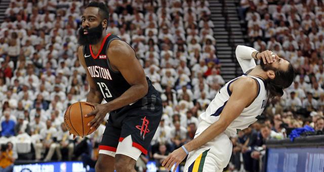 [NBA季后赛]正直播火箭vs爵士G4