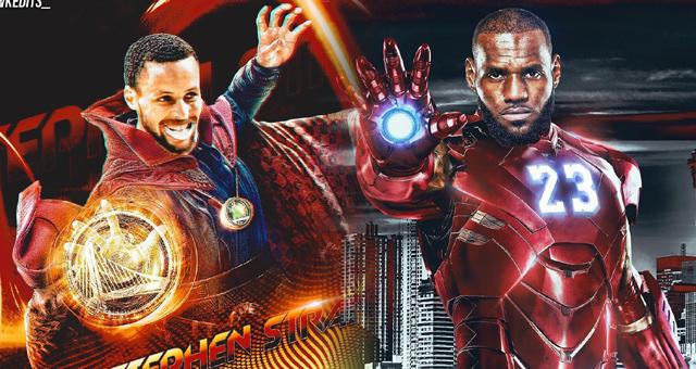 复联4终极之战即将上映 NBA版各路英雄上阵
