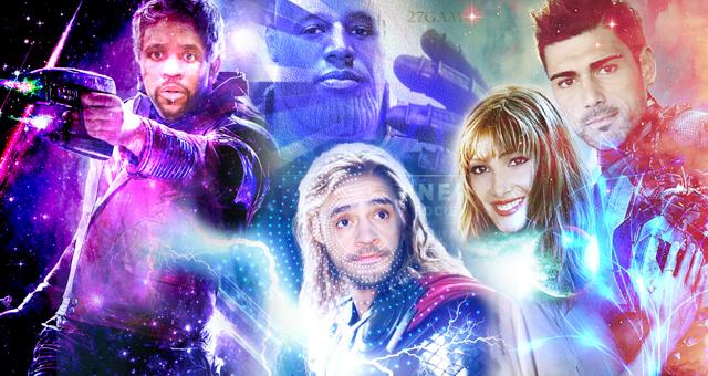 中超球星化身复联英雄是什么样?