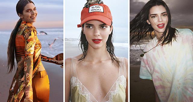 青春的代言!肯达尔-詹娜海滩度假封面
