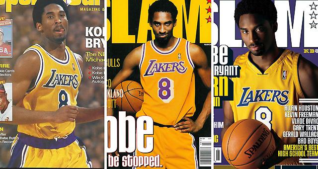 那些年科比上过的杂志封面 21岁就被誉为下一个乔丹