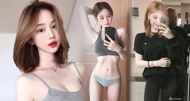 韩国嫩模小姐姐健身减重36斤 练出细腰翘臀