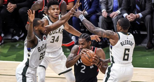 [NBA东部决赛]猛龙100-108雄鹿 总分0-1