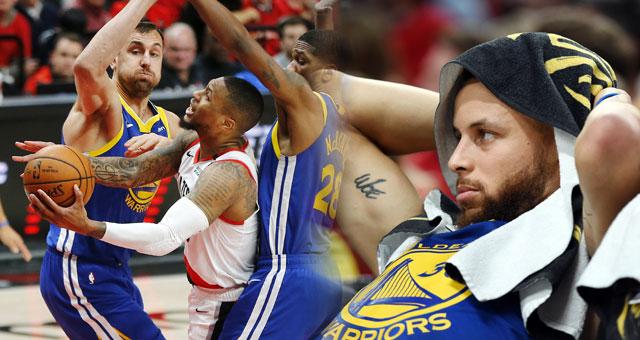 [NBA]勇士总比分4-0横扫开拓者 晋级总决赛
