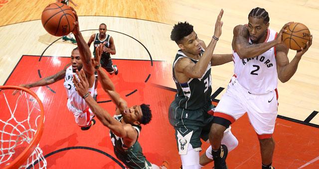 [NBA东部决赛4]猛龙主场轻取雄鹿 总分2-2平
