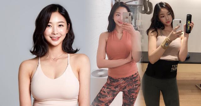 普拉提运动小姐姐健身美照 想和她一起锻炼