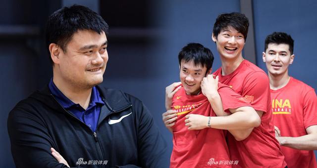 中国男篮开启世界杯集训营 冲刺篮球世界杯