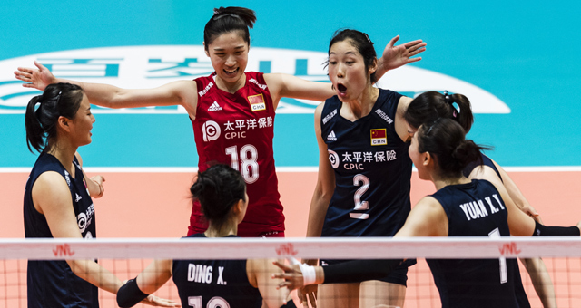 惊天逆转!中国女排3-2意大利 香港站全胜夺冠