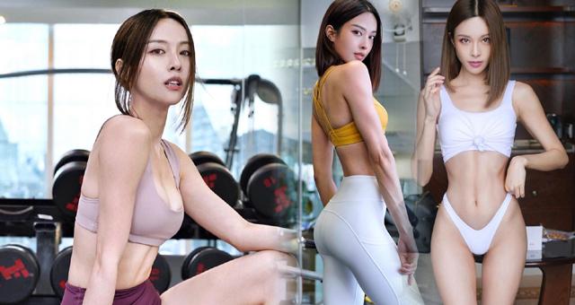 马来西亚健身女神身材辣到没朋友