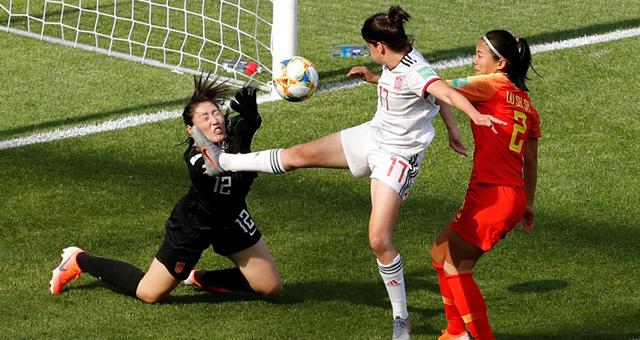 [世界杯]彭诗梦神扑 女足0-0平西班牙小组出线