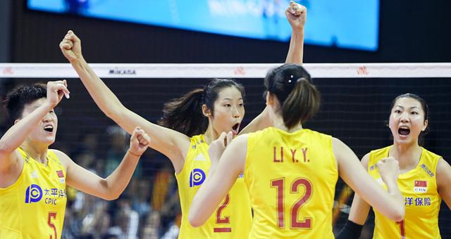 [女排世联]中国3-0保加利亚取两连胜