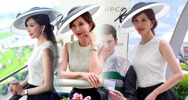 2019英国皇家阿斯科特赛马节 林志玲婚后首亮相