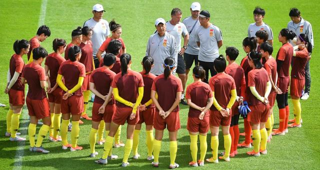 [世界杯]中国女足训练备战意大利队