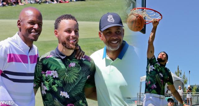 高球选手库里!他是高尔夫球手里扣篮最厉害的