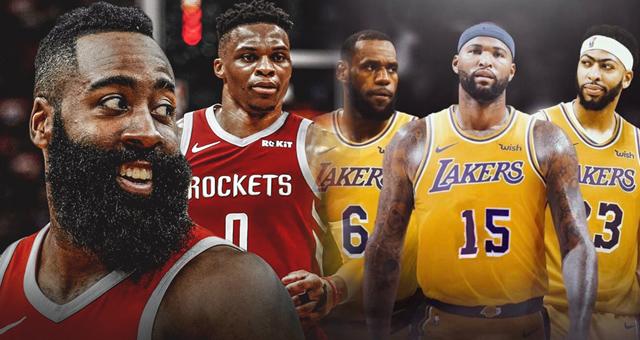 NBA最新实力榜:火箭湖人仅仅分列五六名