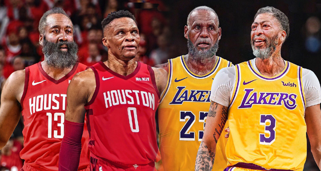 风靡NBA的变老挑战!白胡子老詹依旧霸气