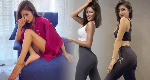 健身网红美女透露瘦身小秘诀 这身材什么水平