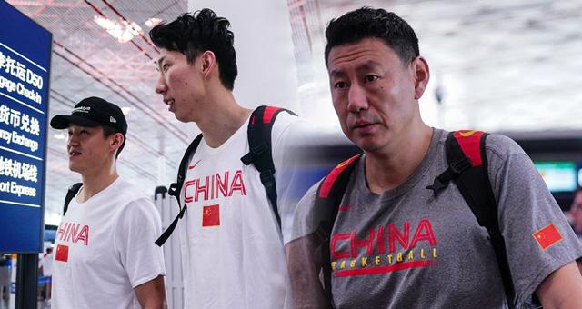 中国男篮出征广州备战中巴对抗赛