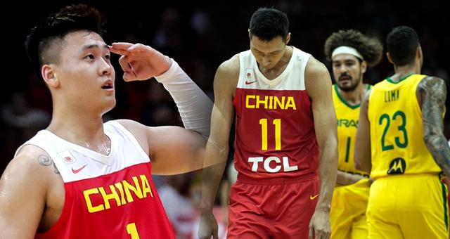 热身赛-赵睿13分郭艾伦伤退 中国男篮3分负巴西