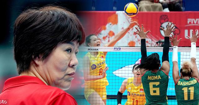 [女排世界杯]中国女排vs喀麦隆女排