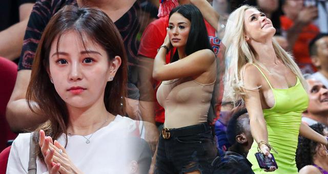 男篮世界杯上的女球迷盘点 中外美女不分高下
