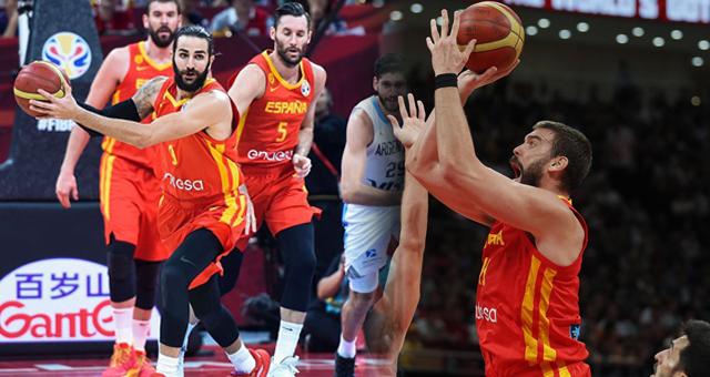 男篮世界杯-西班牙大胜阿根廷夺冠