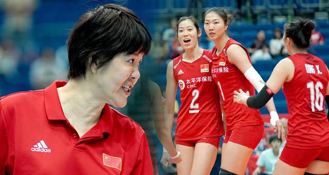 [女排世界杯]中国女排vs多米尼加