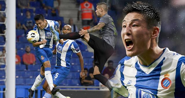 欧联杯-武磊首发屡造威胁 西班牙人1-1平