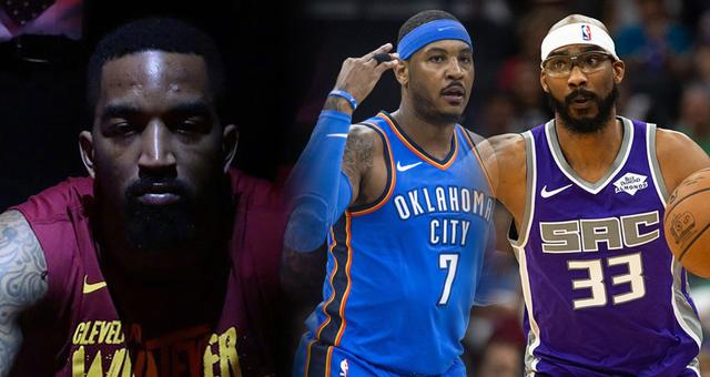 NBA自由市场还剩7大老将!安东尼JR还没人要