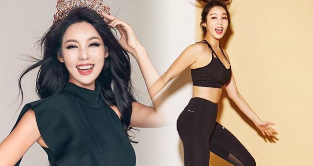 韩国选美冠军爱健身曲线火辣 这身材什么水平