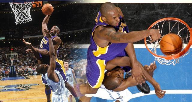 科比NBA职业生涯最凶残的隔扣15周年!