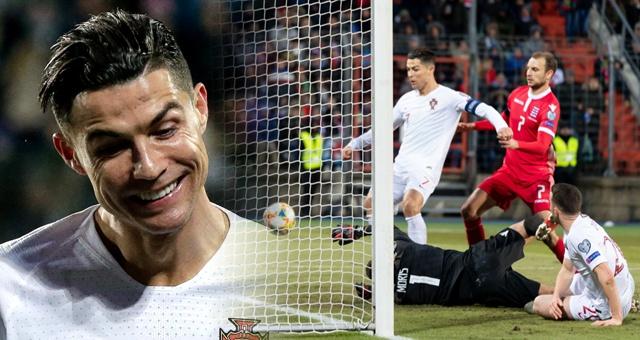 [欧预赛]C罗打入国家队第99球 葡萄牙2-0出线