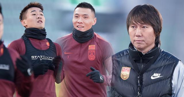 国足选拔队战日本前踩场训练 东亚杯从未胜过对手