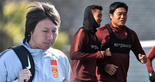 国足选拔队输日本后继续训练 队员心态放松