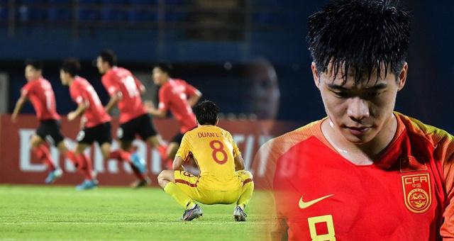 从出局到垫底!国奥成U23亚洲杯唯一0进球0分队