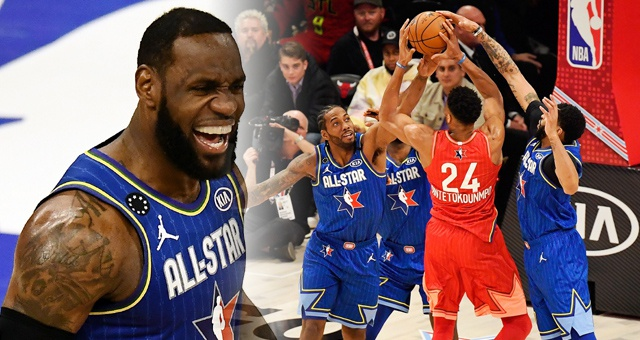 NBA-2020全明星詹姆斯队胜字母哥队