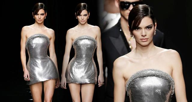 西蒙斯女友詹娜现身米兰时装周 大长腿太抢眼