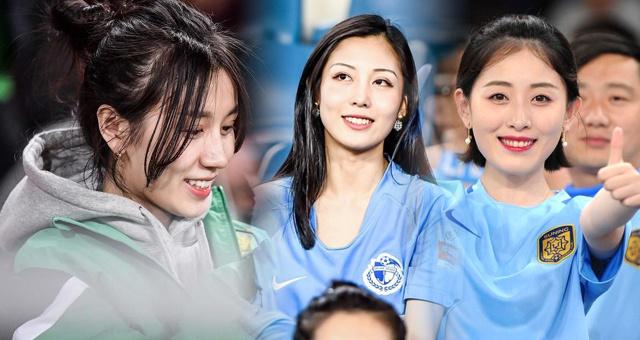 穿球衣的姑娘最美 感受中超16队女球迷风采