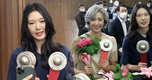 韩国女排联赛梁孝珍夺MVP