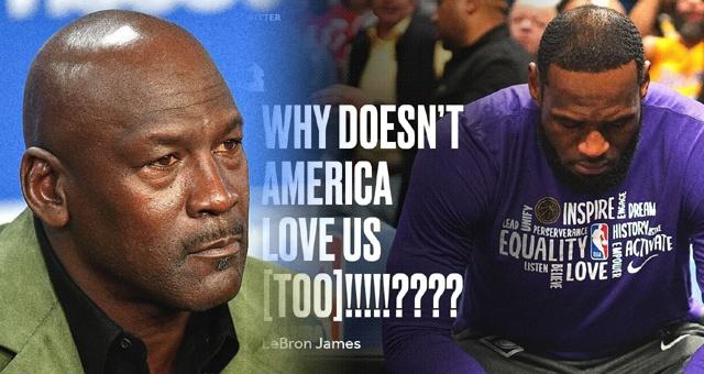 詹姆斯发声:为什么美国不能爱我们?