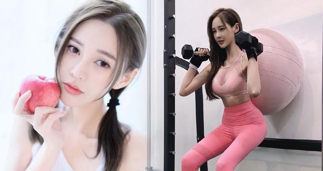 马来西亚超甜女星爱健身运动 感受她的超棒曲线