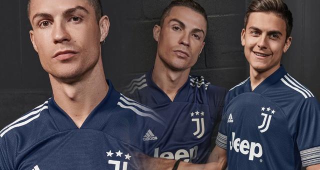 尤文公布新赛季客场新款球衣 C罗迪巴拉联手带货