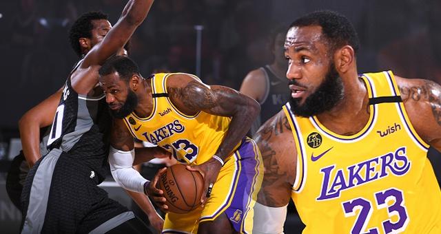 [NBA]湖人122-136国王 詹姆斯17分结束常规赛获助攻王