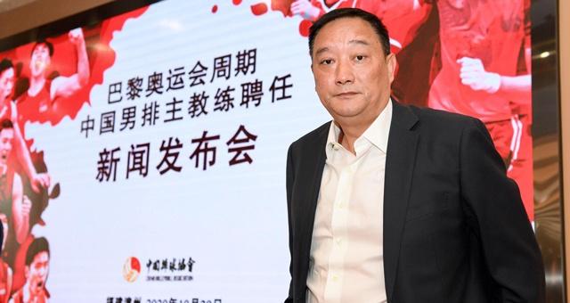 吴胜担任新一届中国男排主教练