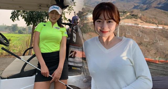 貌美如花!高尔夫新生代美女将出战中韩逐洞赛